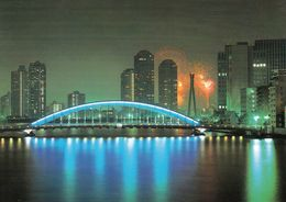 1 AK Japan * Eidai-bashi Bridge - One Of The Famous Bridge From Edo Era (1698) - Rebuilt 1926 - 185m Long * - Tokio