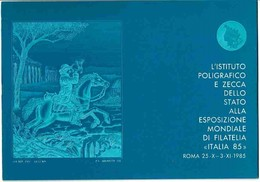 "IPZ - Esposizione Mondiale Di Filatelia ""ITALIA 85"" - Cinderellas"