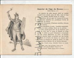 Portraits Historiques. Histoire Du Costume. Guerrier De L'âge De Bronze. - Histoire