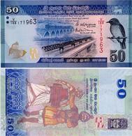 SRI LANKA        50 Rupees       P-124[d]       4.7.2016      UNC - Sri Lanka
