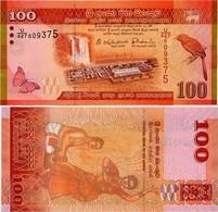SRI LANKA        100 Rupees       P-125d       4.2.2015      UNC - Sri Lanka