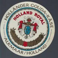 1 Etiquette Fromage -  Hollande A Voir !   Gouda Holland Royal - Cheese
