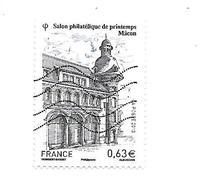 Salon Philatélique De Printemps à Mâcon N°4736 Oblitéré Année 2013 - Gebruikt