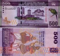 SRI LANKA        500 Rupees       P-126[d]       4.7.2016      UNC - Sri Lanka