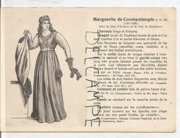 Portraits Historiques. Histoire Du Costume. Marguerite De Constantinople. - Histoire