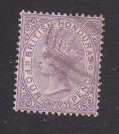 British Honduras, Scott #15, Used, Victoria, Issued 1882 - British Honduras (...-1970)