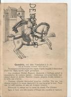 Portraits Historiques. Histoire Du Costume. Genséric, Roi Des Vandales. - Histoire