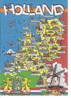 Panoramakarte Holland  (wz-dos-0735) - Pays-Bas