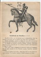 Portraits Historiques. Histoire Du Costume. Godefroid De Bouillon. - Histoire