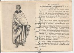 Portraits Historiques. Histoire Du Costume. Wenceslas De Luxembourg. - Histoire