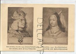 Portraits Historiques. Classic. Maximilien D'Autriche Et Marie De Bourgogne. - Histoire
