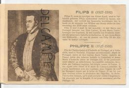 Portraits Historiques. Classic. Philippe II. - Histoire