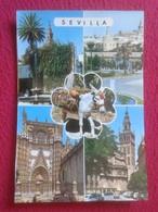 POSTAL POSTCARD POST CARD SEVILLA EDICIONES PERGAMINO. DIVERSAS VISTAS. BURRO BURRITO DONKEY VER FOTO/S Y DESCRIPCIÓN - Burros