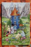 FINLAND MOOMIN Comics Mumintroll Muumi  Russian Postcard - Finland