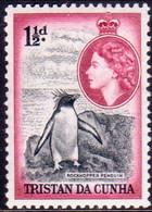 TRISTAN DA CUNHA 1954 SG #16 1½d MNH Tiny Crease On Back - Tristan Da Cunha