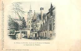 PIE-R-18-2165 : CARTE PRECURSEUR. . CARTE COLORISEE. CHATEAU DE KERIOLET - France