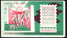Lotto Per Luiginomer -Antitubercolare Anni 1974 - 1977 - 1986 - 1987 - 1989 - Erinnofilia