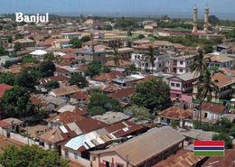 1 AK Gambia * Blick über Die Hauptstadt Banjul – Luftbildaufnahme * - Gambia