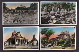 LOT 20 CPSM VIET NAM - INDOCHINE - NORD SUD - VINH-LONG CHOLON CAMBODGE SAIGON HANOÏ SADEC TB PLANS TBE - Vietnam