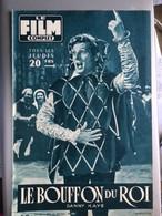 Mon Le Film Complet Le Bouffon Du Roi Danny Kaye 4eme De Couverture Victor Mature Janet Leigh - Journaux - Quotidiens