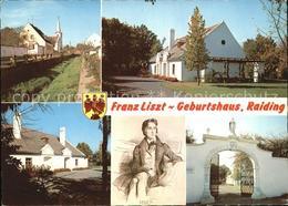 72450963 Raiding Franz Liszt Geburtshaus Raiding - Autriche