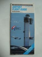 KENNEDY INTERNATIONAL / LA GUARDIA / NEWARK INTERNATIONAL AIRPORT FLIGHT GUIDE - USA, 1992. - Other