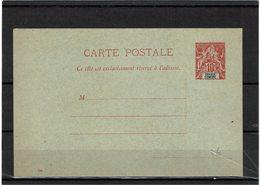 CTN27COL- GRANDE COMORE CP 10c ROUGE DATE 046 NEUVE - Grote Komoren (1897-1912)