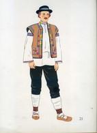 Costume De Hutzui, SLOVAQUIE ORIENTALE...1939 - Collections