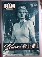 Mon Le Film Complet La Chance D'etre Femme Sophia Loren Charles Boyer 4eme De Couverture John Wayne - Journaux - Quotidiens