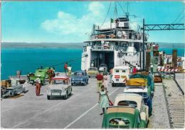 CPSM/CPSM - PIOMBINO - Le Port - Embarquement Pour L'île De Elba - Italie