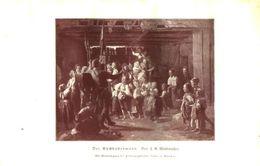 Der Guckkastenmann (von F.G.Waldmueller)  / Druck, Entnommen Aus Kalender / 1910 - Books, Magazines, Comics