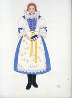Costume De Uherské Hradiste, MORAVIE ...1939 - Collections