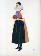 Costume De Vyskova, MORAVIE ...1939 - Collections
