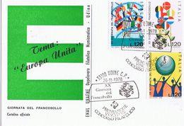 XX Giornata Del Francobollo - Udine 1978 - Manifestazioni
