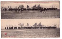 1114 - Lunéville-Garnison ( 54 ) - Sur Le Terrain De Manoeuvre ( Chasseurs à Cheval Et Dragons ) - Quantin éd. - - Luneville