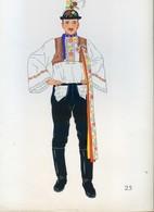 Costume De Kyjova, TCHECOSLOVAQUIE ...1939 - Collections