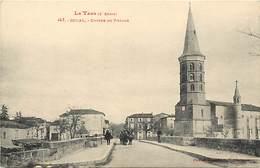 -dpts Div.-ref-YY969-  Tarn - Soual - Entree Du Village -  Edit. Labouche N° 147 - Carte Bon Etat - - Frankreich