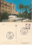 70806- BLOOD DONATION CAMPAIGN, PALERMO IGIEA VILLA, MEDICINE, SPECIAL POSTCARD, CASTLE STAMPS, 1995, ITALY - Medicina