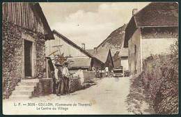74  USILLON. COMMUNE DE THORENS  (HAUTE- SAVOIE)  ANIMEE...LE CENTRE DU VILLAGE.....C2624 - France
