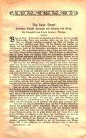 Die Liebe Dorel (Dorothea Sibylla Herzogin Von Liegnitz Und Brieg) / Artikel, Entnommen Aus Kalender / 1910 - Books, Magazines, Comics