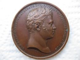 Medaille Charles Ferdinand D Artois Duc De Berry 1820 Par Raymond Gayrard - Unclassified