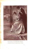 Ballgespräch (von Friedrich Klein-Chevalier) / Druck, Entnommen Aus Kalender / 1910 - Books, Magazines, Comics