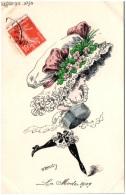 ROBERTY - La Mode En 1909  - Chapeau - Ilustradores & Fotógrafos