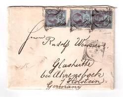 Cover Sent To Germany In May 30th 1895 - 1840-1901 (Victoria)