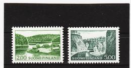 AUA814 FINNLAND 1965 Michl 587/88 Y ZÄHNUNG SIEHE ABBILDUNG - Finnland
