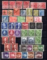 Berlin Belle Collection De Bonnes Valeurs Oblitérées 1948/1958. B/TB. A Saisir! - Berlin (West)