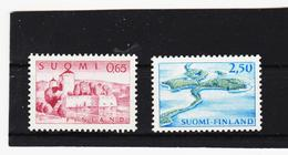 AUA816 FINNLAND 1967 Michl 621/22 ZÄHNUNG SIEHE ABBILDUNG - Finnland