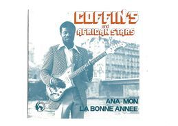 """Disque 45 Tours 2 Titres """"Coffin's""""and African Stars - 45 T - Maxi-Single"""