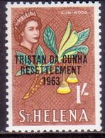 TRISTAN DA CUNHA 1963 SG #63 1sh MH - Tristan Da Cunha