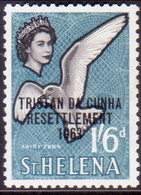TRISTAN DA CUNHA 1963 SG #64 1sh6d MH - Tristan Da Cunha